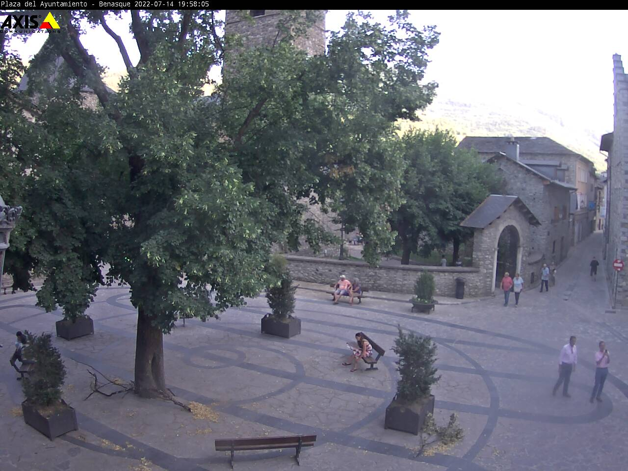 Plaza del Ayuntamiento de Benasque