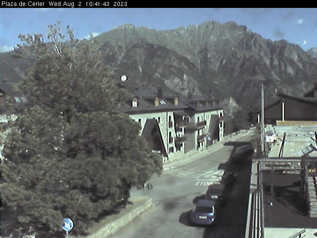 Webcam en Cerler - Pueblo